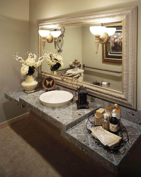 Bathroom at Solutions Dental Implants in Sun City West, AZ